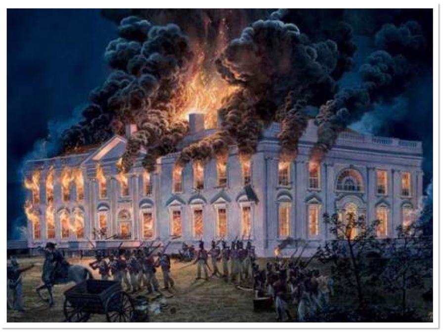 The Burning of Washington DC. – Friends of Innishannon